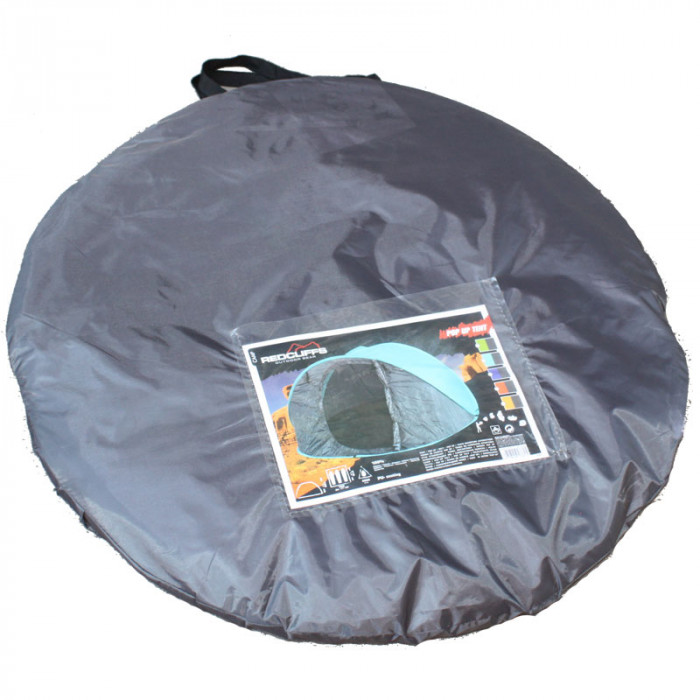 Триместна палатка pop-up овална 190х210см