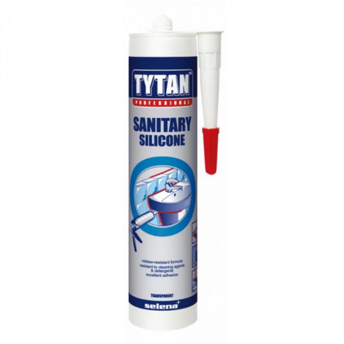 Санитарен силикон Tytan Professional прозрачен 280мл
