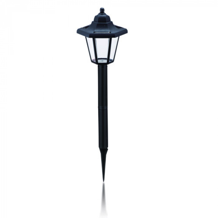 Соларна LED лампа за градина фенер 47см