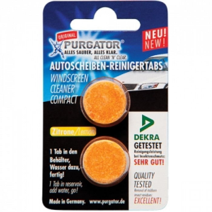 Таблетки лятна течност за чистачки Purgator 2 броя