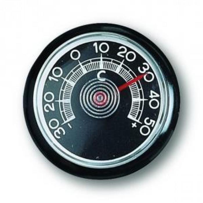 Стенен термометър за автомобил -30 до +50°С Ø46x9мм