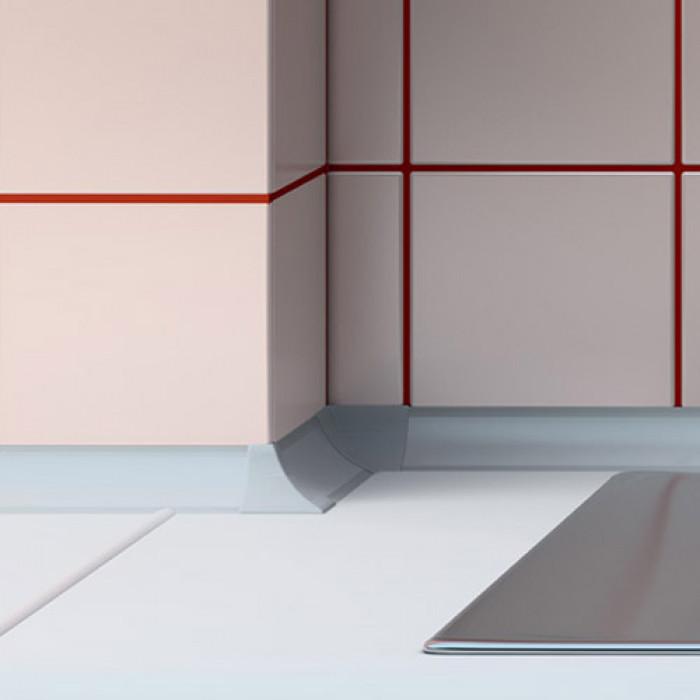 Вътрешен ъгъл за водобранна лайсна Salag бял