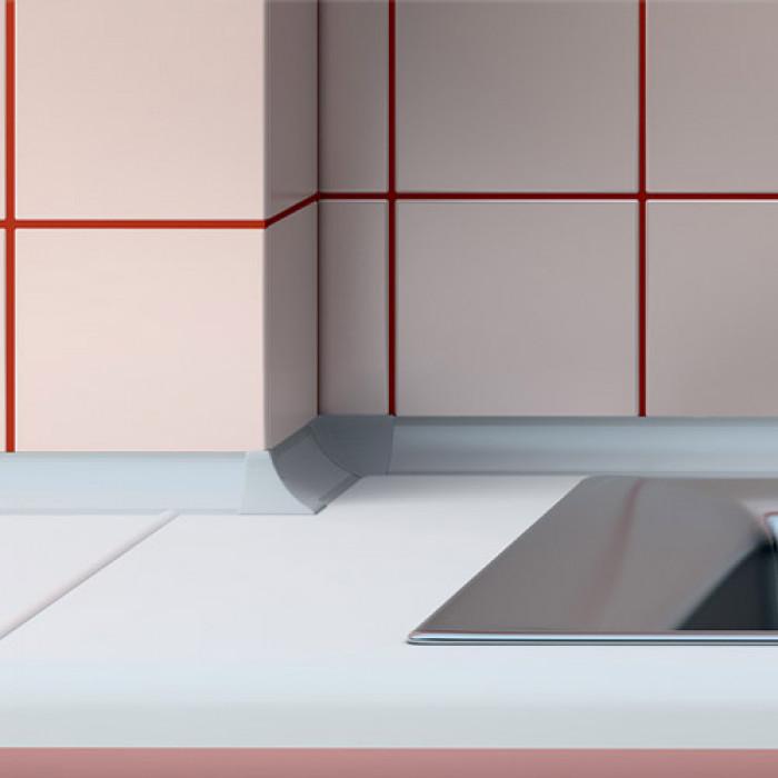 Водобранна лайсна Salag 3м алуминий 23х23мм