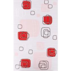 Плочки за стенна декорация 250 x 400 Линеа лукс червени