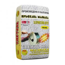 Мазилка за пръскане на стени и фасади Теразид 25 кг / бяла