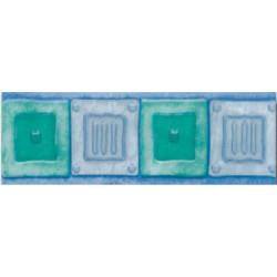 Плочки за стенна декорация / фриз 70x200 Сара комфорт зелени