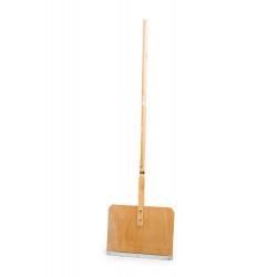 Дървено гребло / лопата за сняг