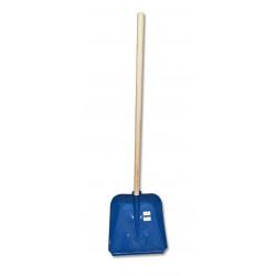 Метална подсилена лопата за сняг Grasko с дръжка 120см / ширина 38,5см