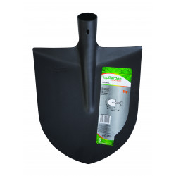 Полуовална лопата без дръжка Top Garden Premium 272 х 304 мм