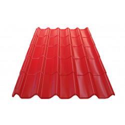 Метален покрив Eco 0.4mm / 1.09m керемиден цвят