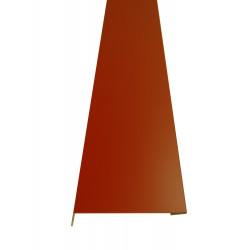 Челна планка 2m / оксидно червенa