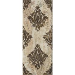 Стенни декоративни плочки IJ лукс Кроно орнамент 200x500мм бежови