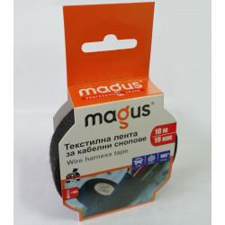 Текстилна лента за кабелни снопове Magus 10м/19мм