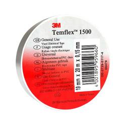 Изолирбанд 3М Temflex 1500 бял 10м/15мм