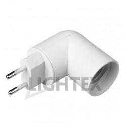 Накрайник за контакт с фасунга Е27 Lightex