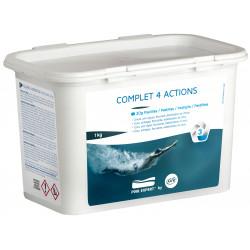 Таблетки за дезинфекция на вода в плувни басейни Gre 4в1