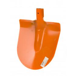 Крива оранжева лопата без дръжка BG