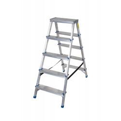 Алуминиева домакинскадвустранна стълба Drabest 125кг / 113 см