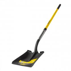 Квадратна лопата с педал и дръжка фибростъкло 1500mm TMP