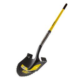 Кръгла лопата с педал и дръжка фибростъкло 1500mm TMP