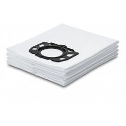 Трипластови текстилни филтърни торбички за Kаrcher MV4, MV5 und MV6 / 4 броя