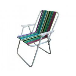 Сгъваем плажен/къмпинг стол ZRC005-2 / 53x38x76cm