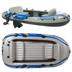 Надуваема лодка Intex 68324 Excursion 4 set 400кг