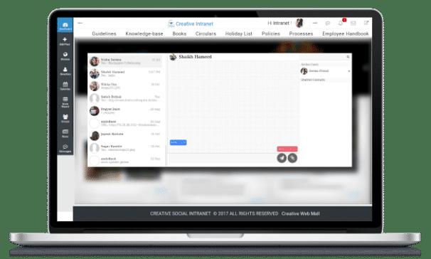 Corporate communication portal