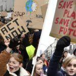 Garotas adolescentes lideram protestos contra mudança climática