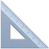 triangular ruler