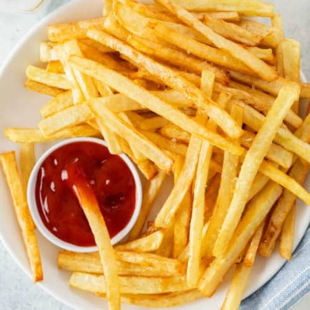 Top 5 French Fry Styles and Shapes!! 🍟 #List #Fries