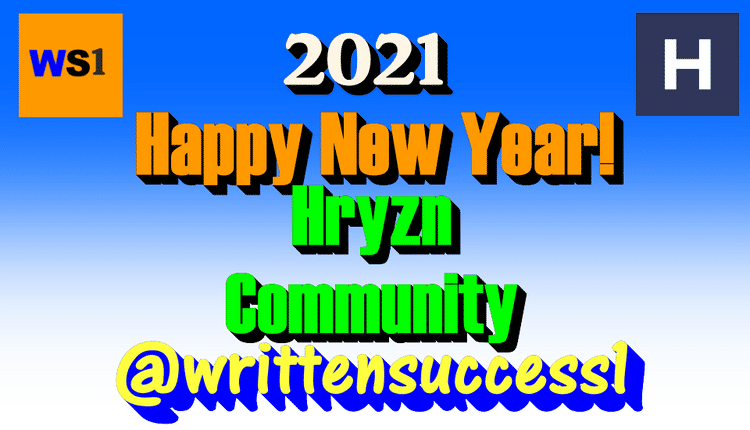 """HAPPY NEW YEAR and Happy 2021 to everyone on the HRYZN Community! :) I am looking forward to a great positive and progressive year in 2021 with completing certain goals and learning new skills towards content creation. I am very excited and open-minded for any great things and features that HRYZN has to offer Content Creators and its audience in 2021! Let's get this started on a high note and See Ya Later the year of 2020! Out with the old and In with the new. Peace!""""Growing Roots from the Ground Up"""""""