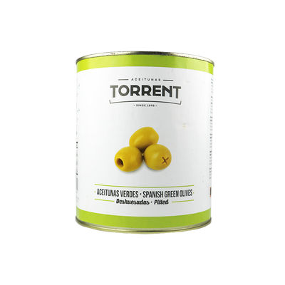 TORRENT GREEN OLIVE PITTED 3150G