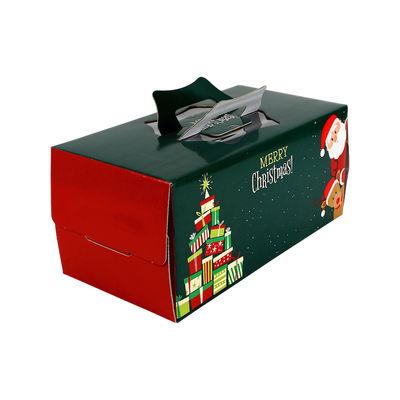 "REDMAN LOG CAKE BOX 10""X6""X6""H /XMAS GIFT TREE"