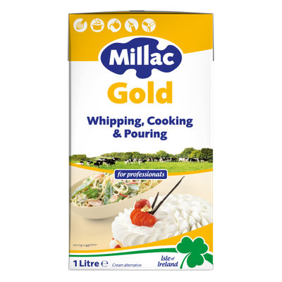 MILLAC GOLD UHT WHIPPING CREAM 1L