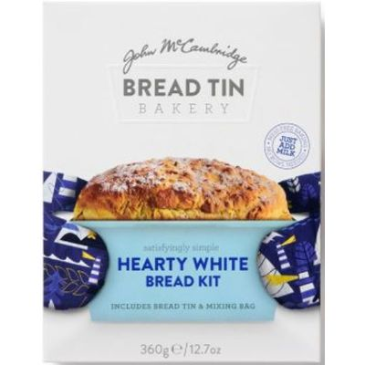 MCCAMBRIDGE BREAD KIT HEARTY WHITE 360G