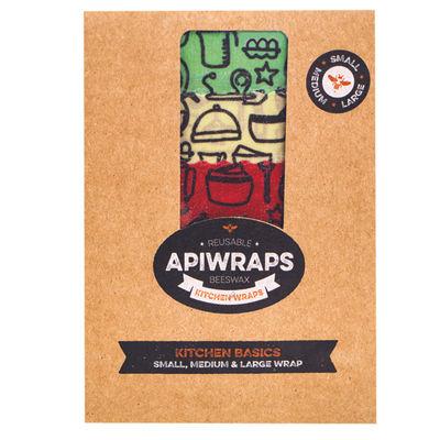 APIWRAPS BEESWAX KITCHEN BASICS