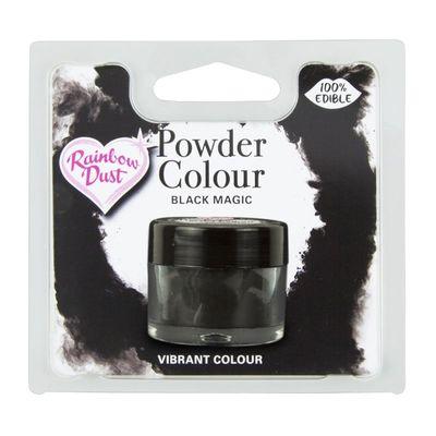 RAINBOW DUST COLOR POWDER BLACK MAGIC 4G