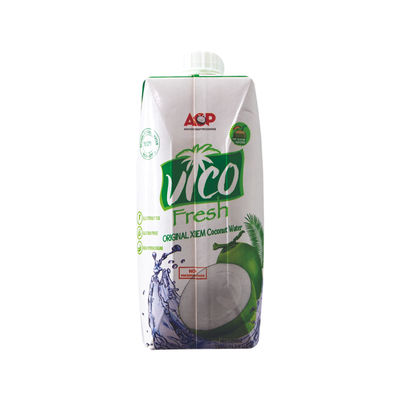 VICO COCONUT WATER UHT NO SUGAR ADDED 330ML
