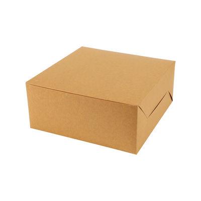 "REDMAN UNCOATED KRAFT CAKE BOX 8X8X4"" 5PC"