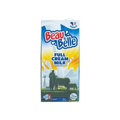 BEAU & BELLE UHT FULL CREAM MILK 3.6% 1L