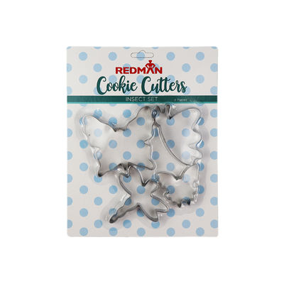 REDMAN INSECT COOKIE CUTTER STAINLESS STEEL SET