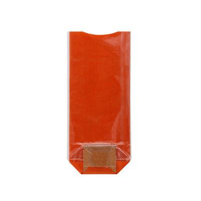 REDMAN COOKIE BAG KRAFT ORANGE 10X22CM 10PCS