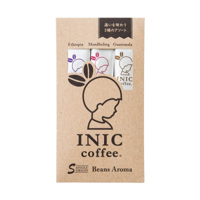 INIC BEANS AROMA ASSORTED (3P) [Best Before:01-11-21]