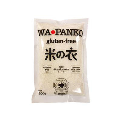 WA-PANKO GLUTEN FREE PANKO BREAD CRUMBS 200G