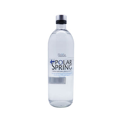 POLAR SPRING SPARKLING SPRING WATER (GLASS) 0.75L