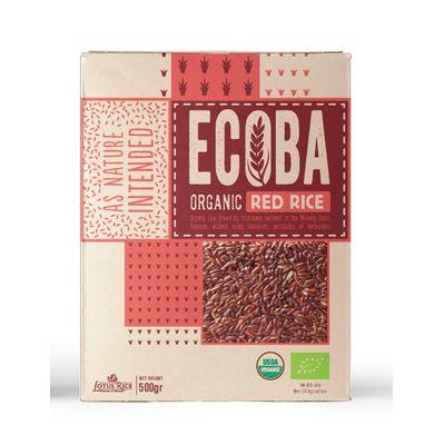 ECOBA ORGANIC RED RICE 500G