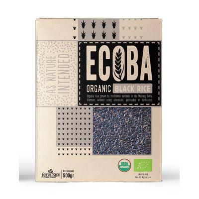 ECOBA ORGANIC BLACK RICE 500G