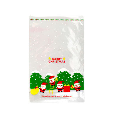 OTHERS COOKIE BAG X'MAS C243 100PC