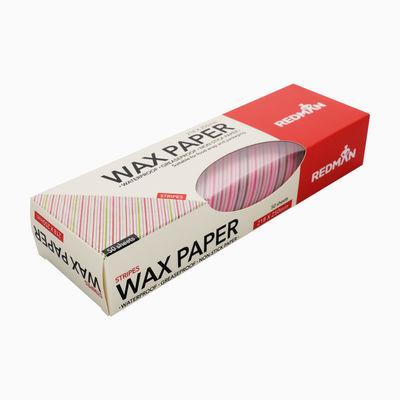 REDMAN WAX PAPER STRIPES 218X250MM 50PC